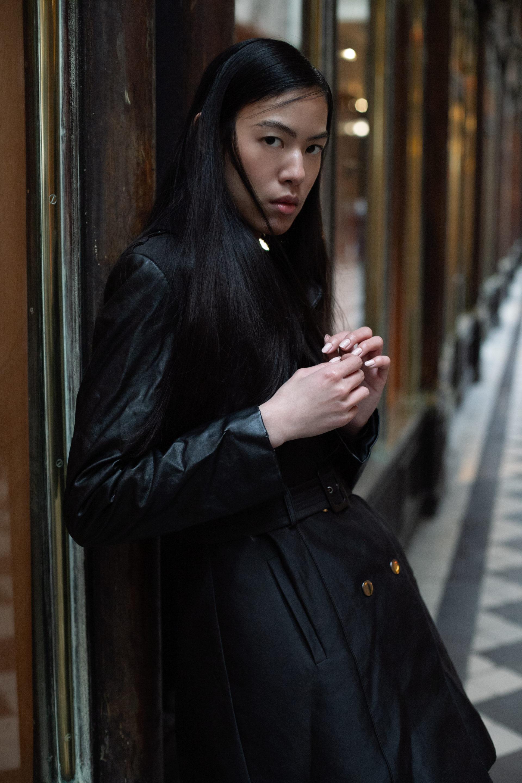 Emilie modèle asiatique scouting Paris